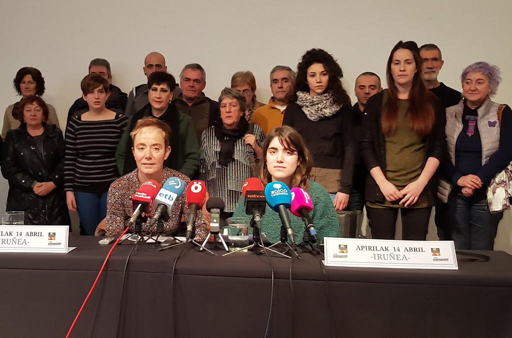 """Familiares de los jóvenes de Altsasu convocan una """"gran movilización"""" por """"las libertades y la justicia"""""""