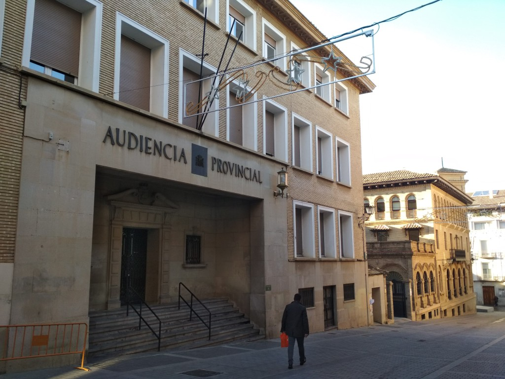 El Ayuntamiento de Uesca adjudica el acondicionamiento de la Antigua Audiencia como Casa de la Música por 202.500 euros