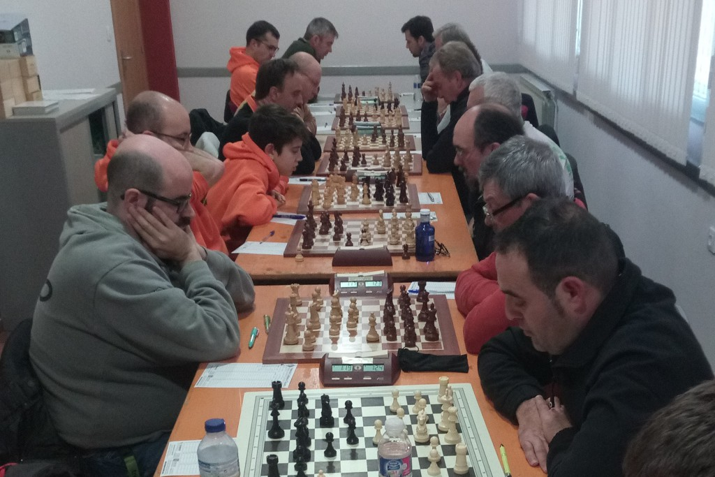 Segunda derrota consecutiva del Baix Segre de Mequinensa en Preferente Leridana de Ajedrez
