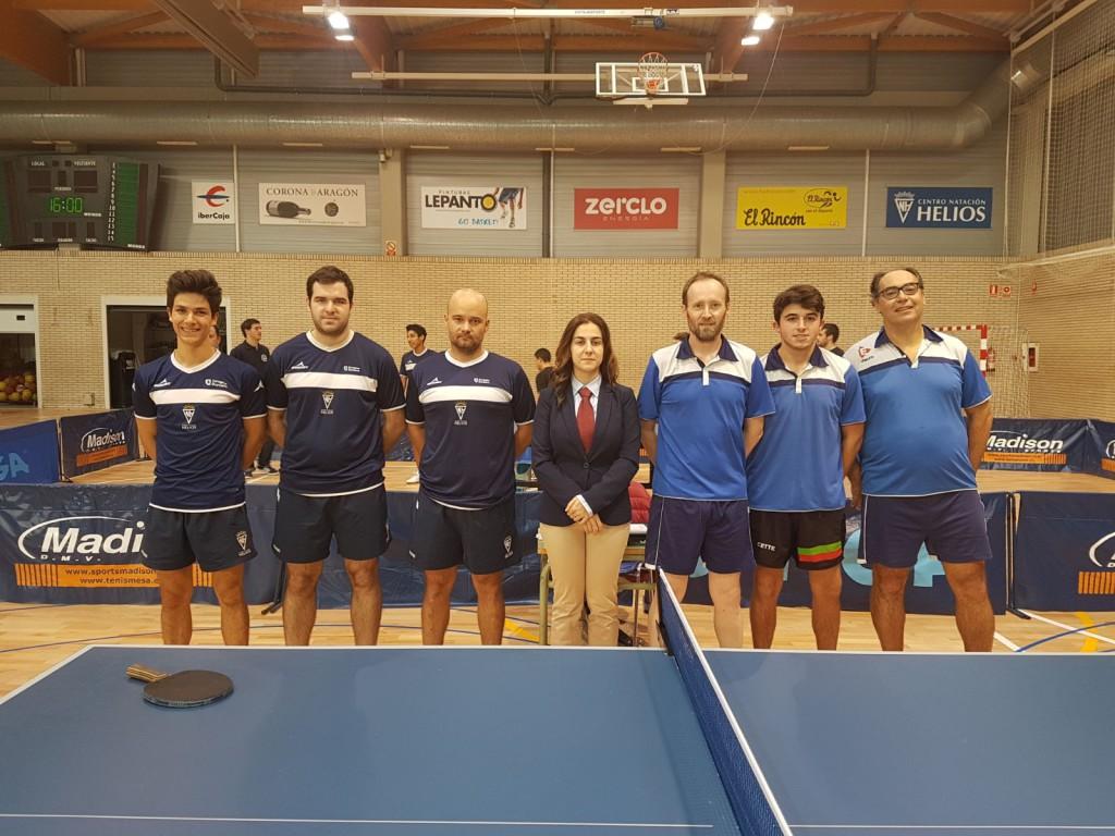 El CN Helios 'A' de tenis de mesa cae en su visita a Borgues Blanques