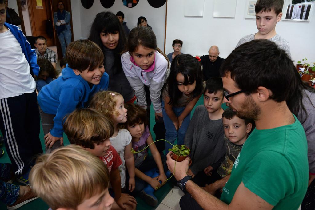 El Aula de la Naturaleza del Alto Aragón abre sus puertas con una campaña sobre contaminación