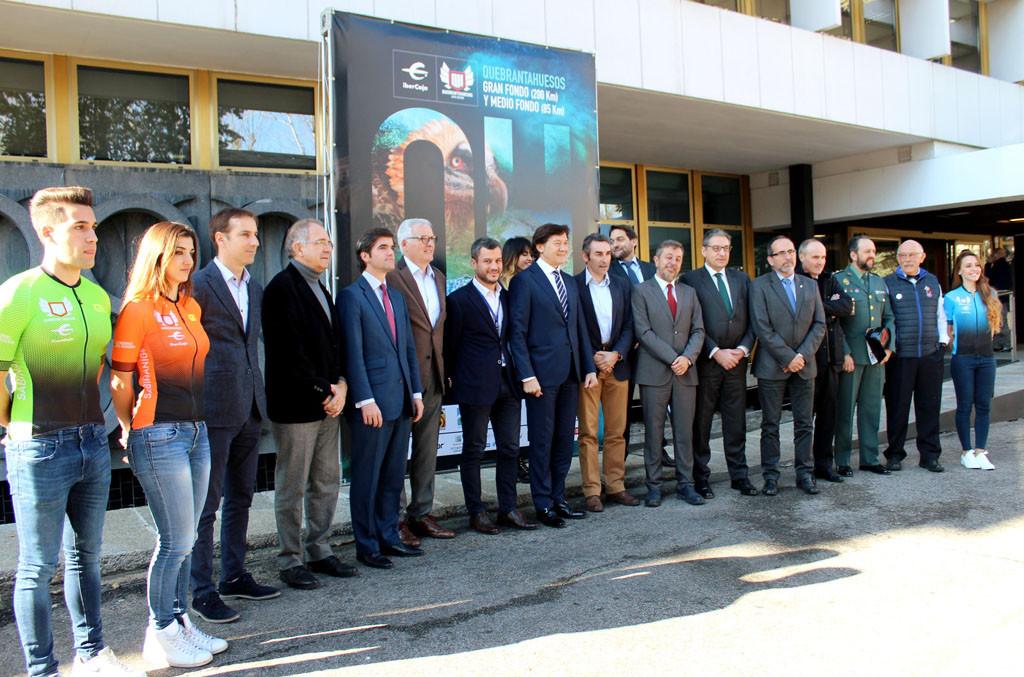 La DPH y la Peña Ciclista Edelweis refuerzan el papel turístico de la Quebrantahuesos para prolongar su impacto todo el año