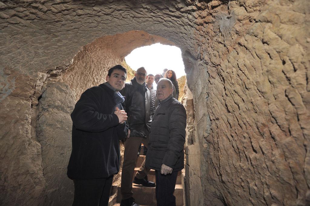 Abiertas al público las trincheras republicanas entre Monzón y Selgua