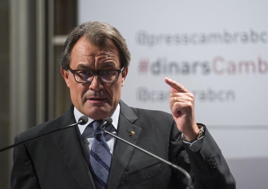 Artur Mas dimite de la presidencia del PdeCAT