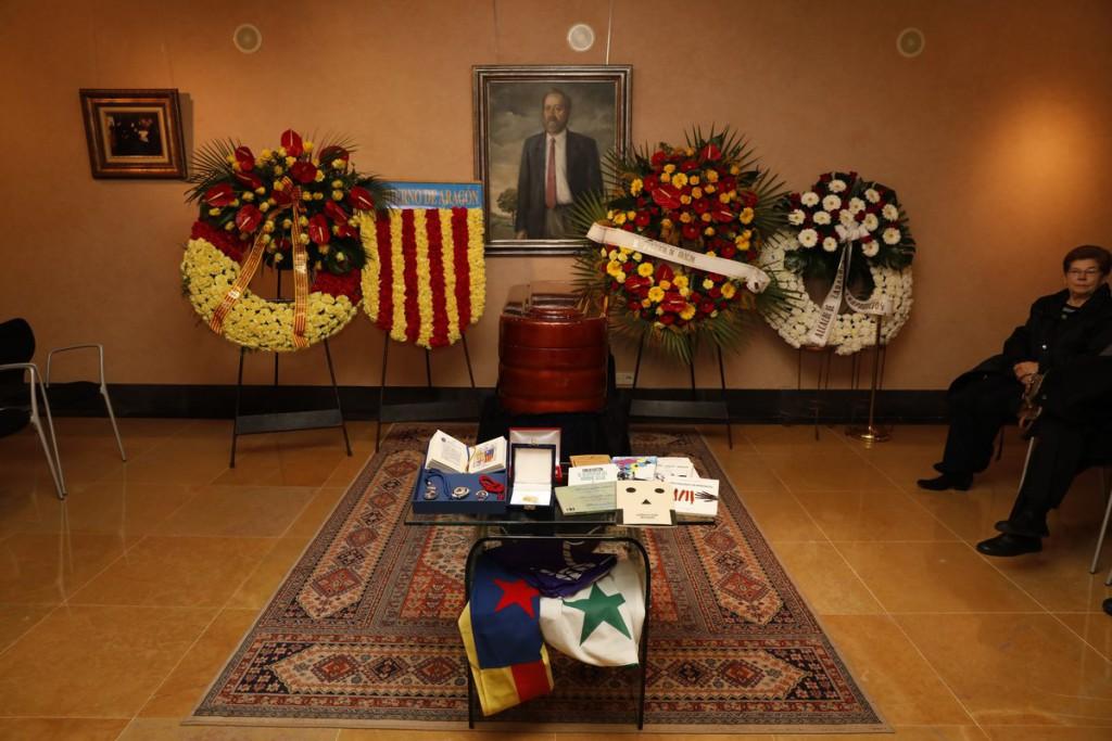 Aragón despide a Emilio Gastón, que será homenajeado el 30 de enero en el Paraninfo