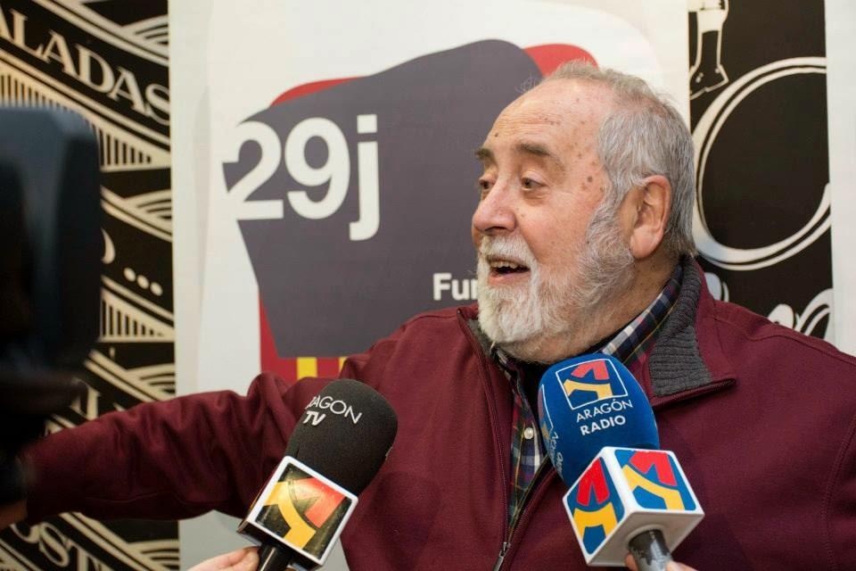 Fallece Emilio Gastón, poeta, artista y primer Chusticia d'Aragón en la época democrática post-franquismo