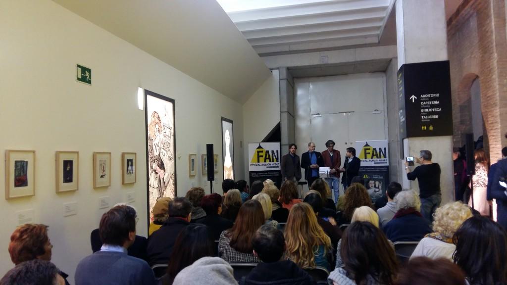 El IAACC Pablo Serrano inaugura la exposición 'H Negra', una reivindicación de los personajes femeninos del género negro y policial