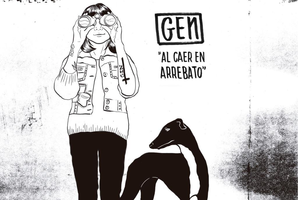 'Al caer en Arrebato', nuevo disco en directo de GEN