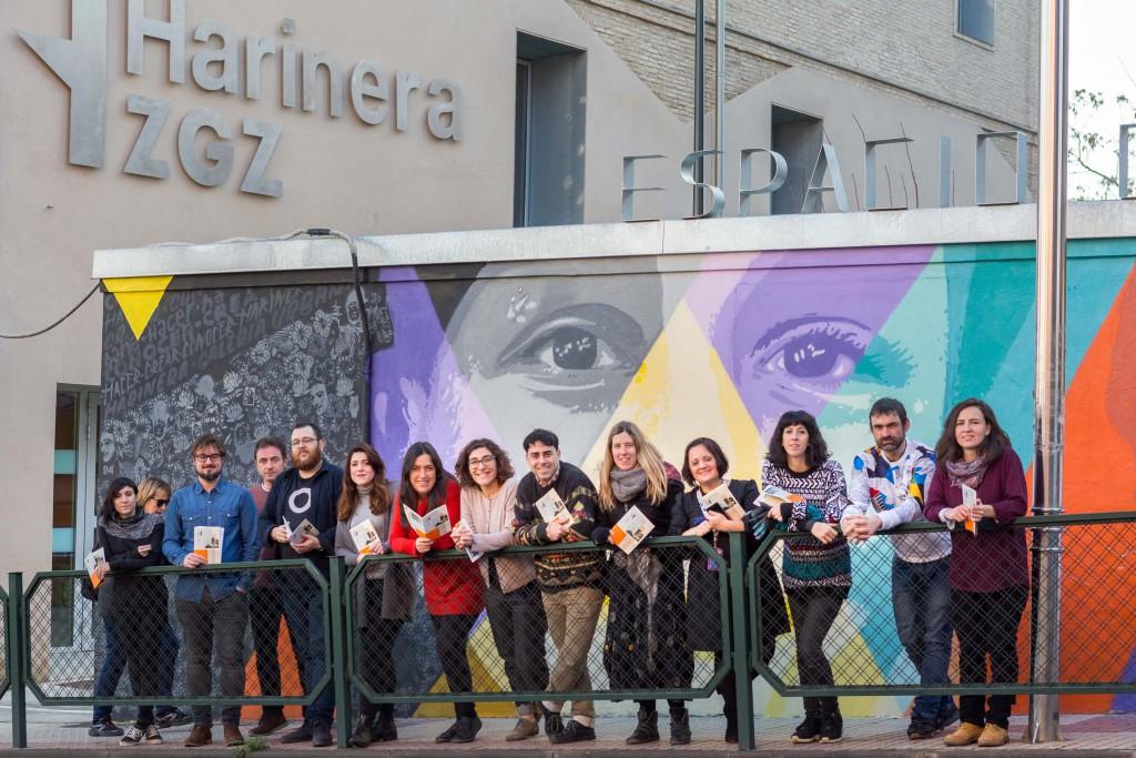 Hacer, Conocer, Conversar y Crear Comunidad, ejes de la programación de Harinera ZGZ
