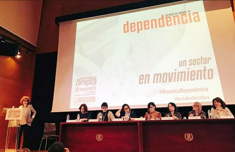 CCOO inicia contactos con partidos políticos en relación con las condiciones laborales de las trabajadoras de la Dependencia
