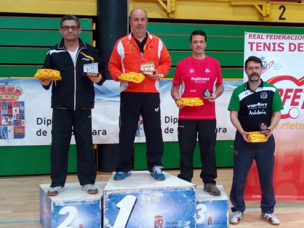 Javier Rey, bronce en el Top Estatal de tenis de mesa