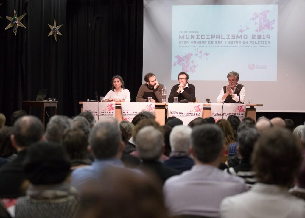 Zaragoza en Común celebra las jornadas Municipalismo 2019