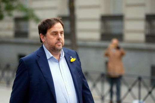 El Tribunal Supremo mantiene en prisión a Oriol Junqueras