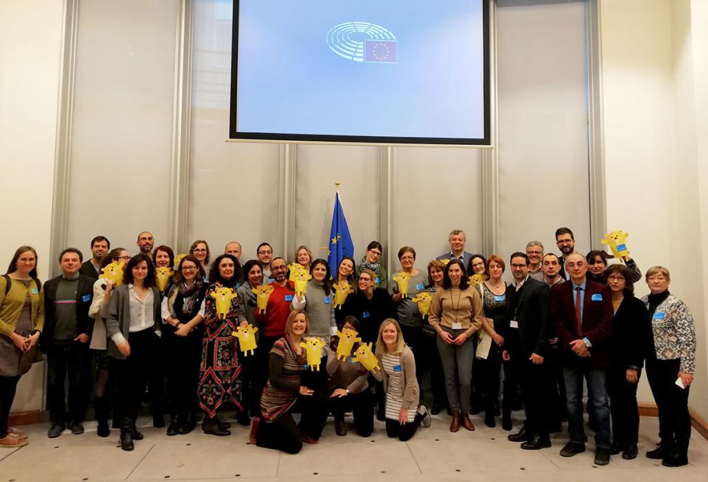 La Economía Solidaria se presenta en la sede del Parlamento Europeo como un paradigma social por la dignidad