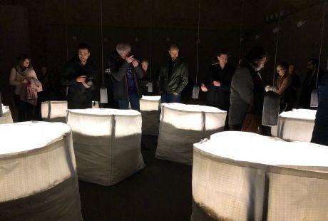 El Museo de Uesca acoge la exposición de Ignacio Llamas, 'La construcción del silencio'