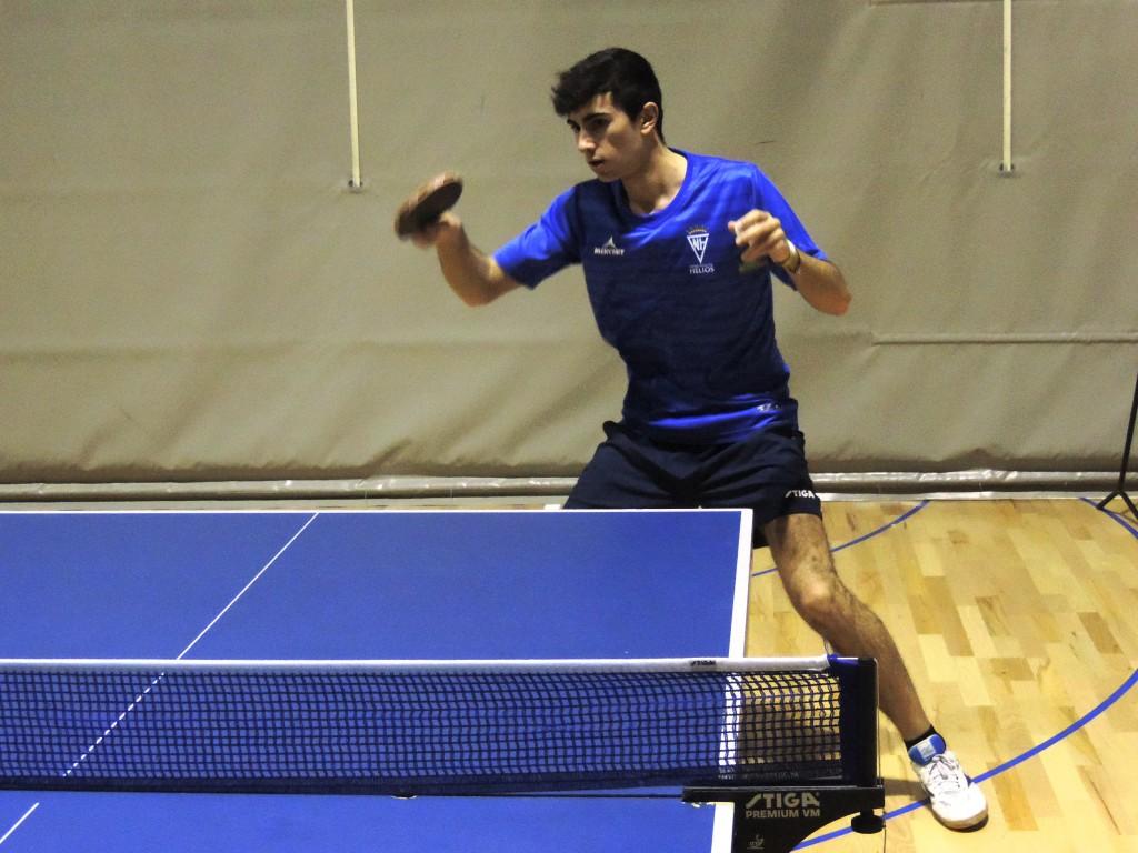 Primera jornada en Segunda División Estatal masculina de Tenis de Mesa para cuatro equipos aragoneses