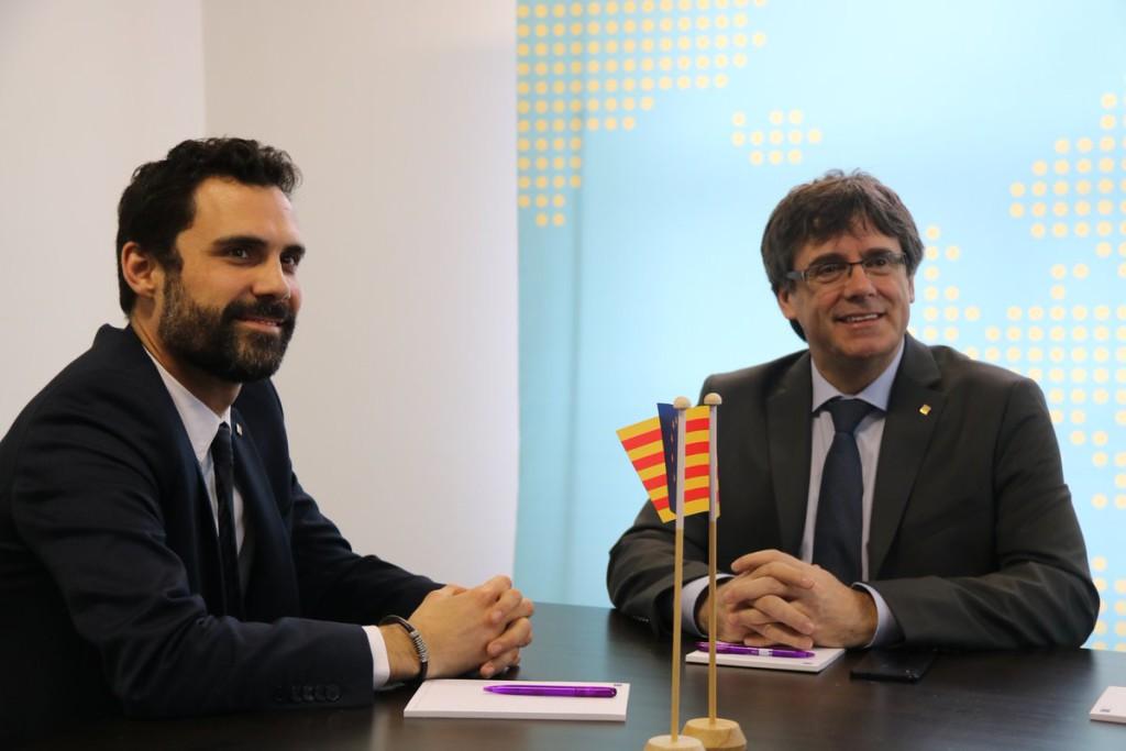 Torrent llevará el veto del Gobierno español a la investidura de Puigdemont al TEDH