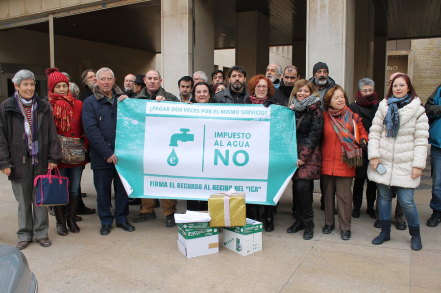 La campaña en contra del pago del ICA sigue su curso
