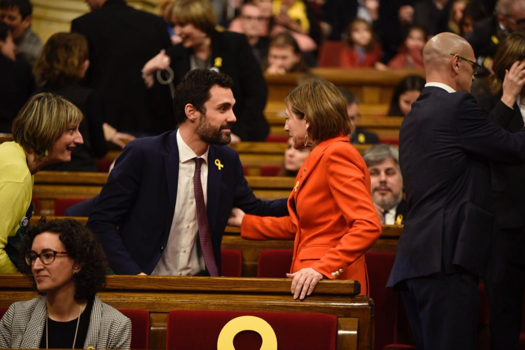 Roger Torrent (ERC) nuevo president del Parlament de Catalunya