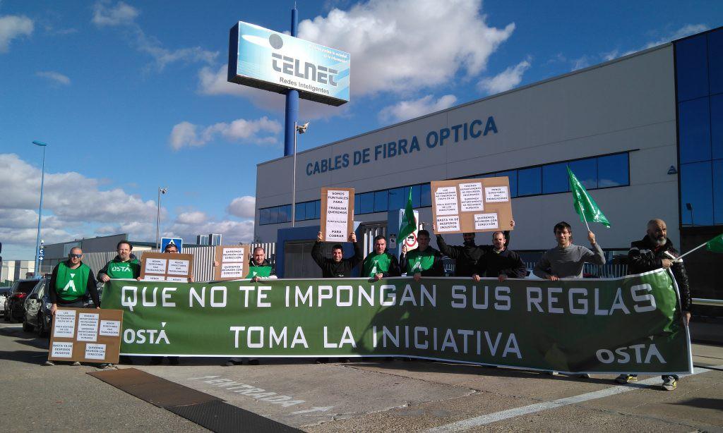 """El comité de empresa de Telnet se moviliza contra los """"continuos despidos injustos"""" ejecutados por la empresa"""