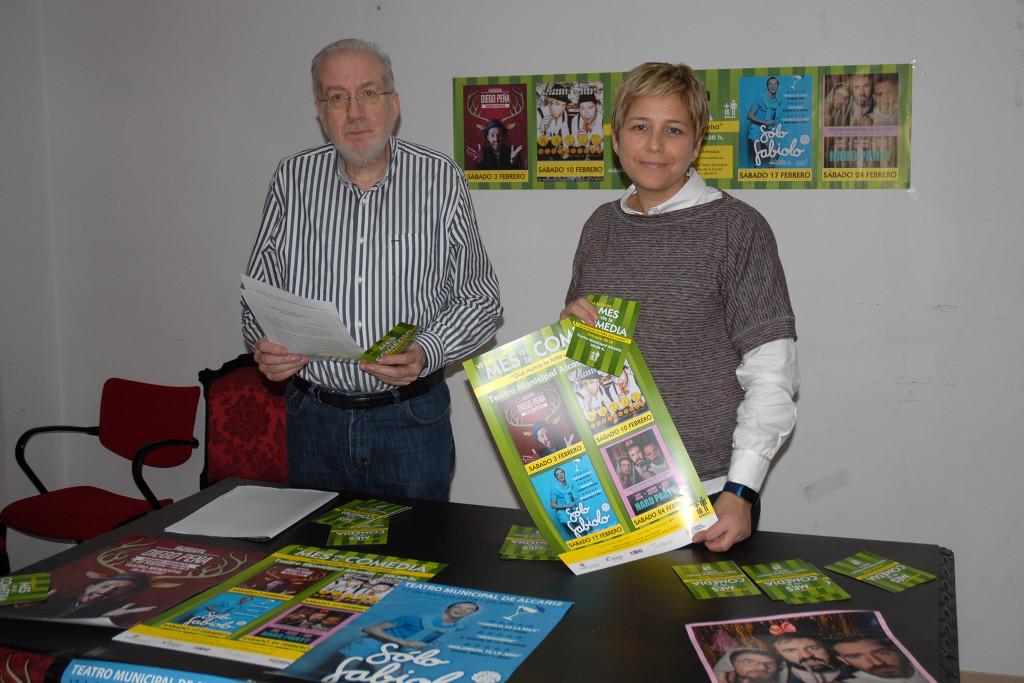 El Ayuntamiento de Alcanyiz organiza todos los sábados de febrero la sexta edición del Mes de la Comedia