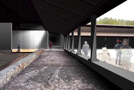 El yacimiento de La Malena se protegerá y abrirá al público gracias a un proyecto de reconstrucción volumétrica