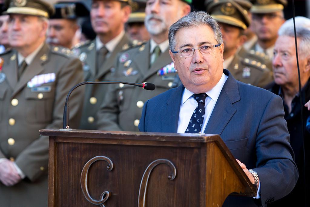 Zoido cifra en 87 millones de euros el coste del despliegue policial por el referèndum del 1-O en Catalunya