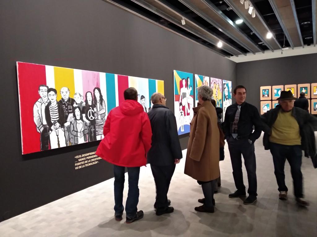 El artista Sergio Muro invita a los y las espectadoras a convertirse en una obra de arte en el IAACC Pablo Serrano