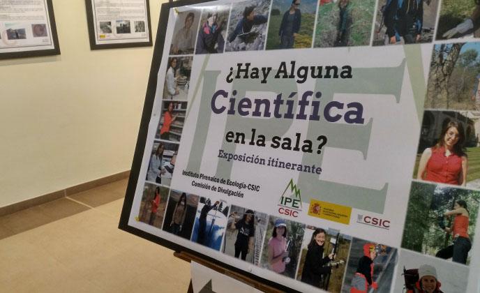 El Centro de Historias acoge una muestra sobre la investigación que realizan las mujeres del Instituto Pirenaico de Ecología