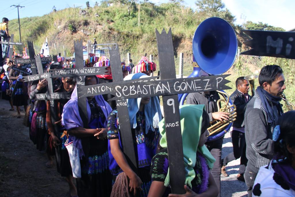 Charla informativa sobre los y las miles de indígenas refugiadas y desplazadas de Chiapas
