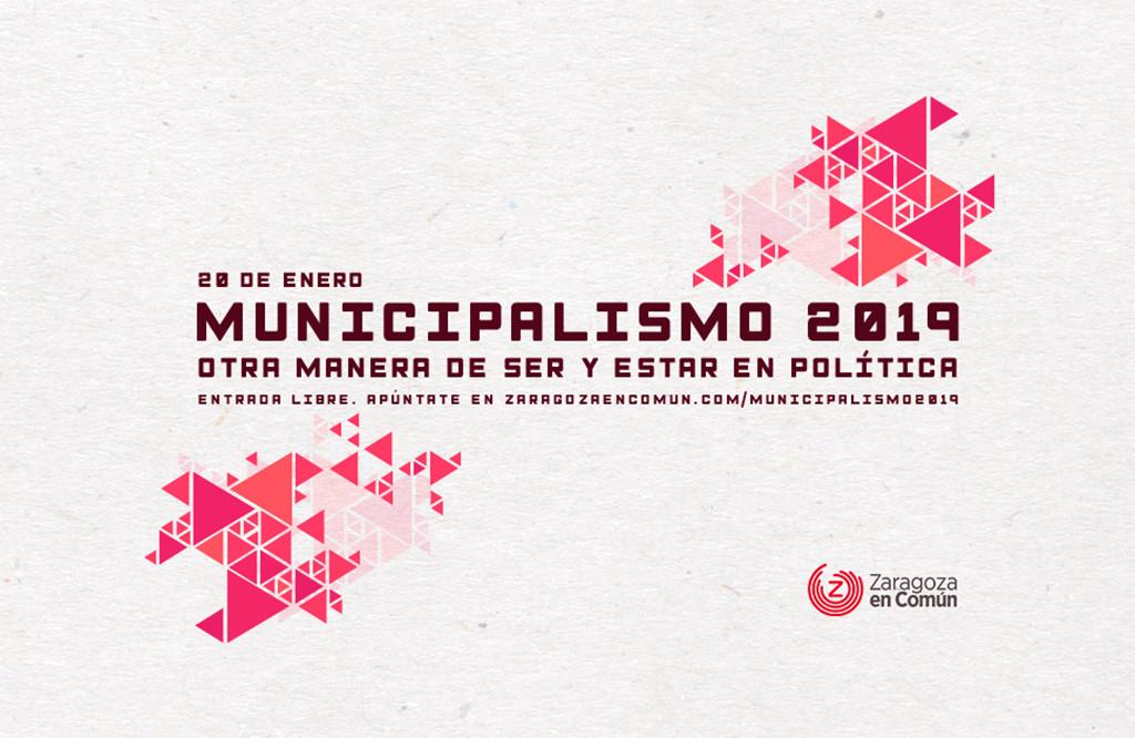 ZeC organiza la jornada 'Municipalismo 2019. Otra forma de hacer y estar en política'