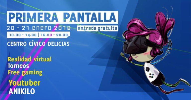 El youtuber Anikilo, estrella de la quinta edición de la Feria del Videojuego de Zaragoza 'Primera Pantalla'