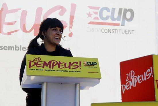 La CUP asegura que la ex diputada Anna Gabriel se encuentra en Ginebra