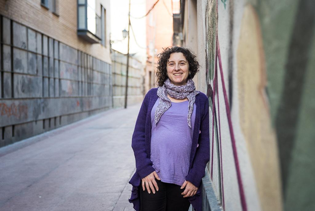 Arantza Gracia. Foto: Pablo Ibáñez (AraInfo)