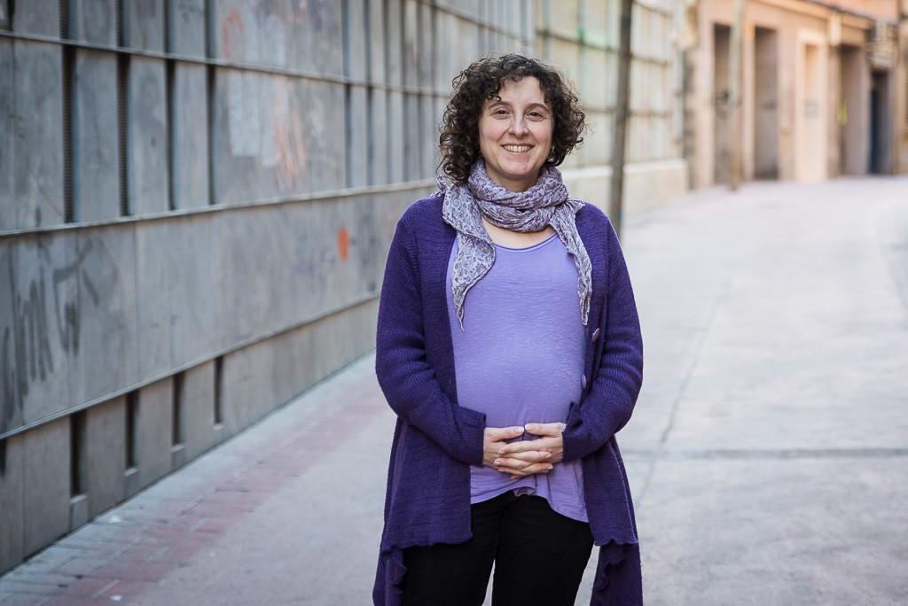 """Arantza Gracia: """"Las personas que mayoritariamente se dedican a la actividad política no ejercen tareas de cuidado"""""""