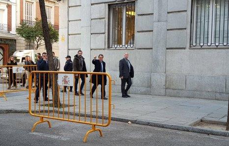 Lloveras y Mas en libertad tras declarar ante el Supremo