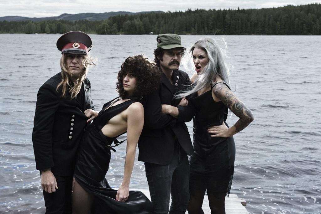 The Baboon Show: energía punk rock sueca en directo en Zaragoza
