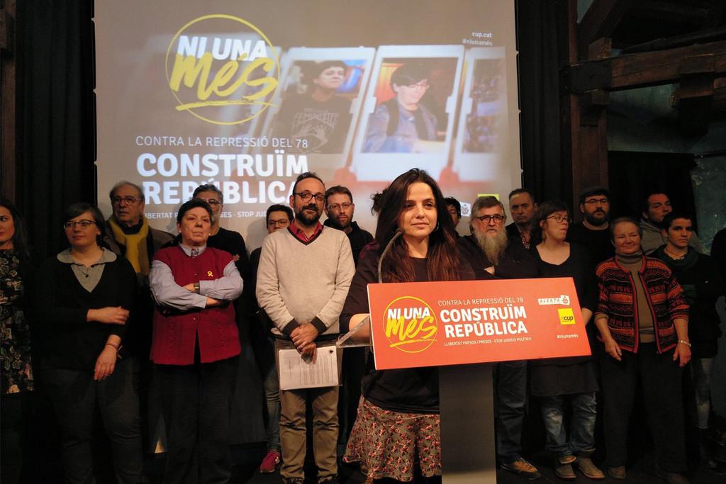 """La CUP señala que han abierto """"un nuevo frente político y judicial para visibilizar e internacionalizar el conflicto"""""""