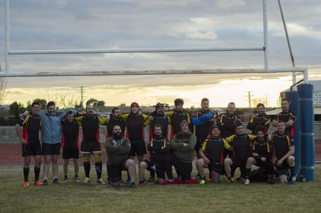 Quinta victoria consecutiva del Club de Rugby Teruel ante el San Roque 'B'