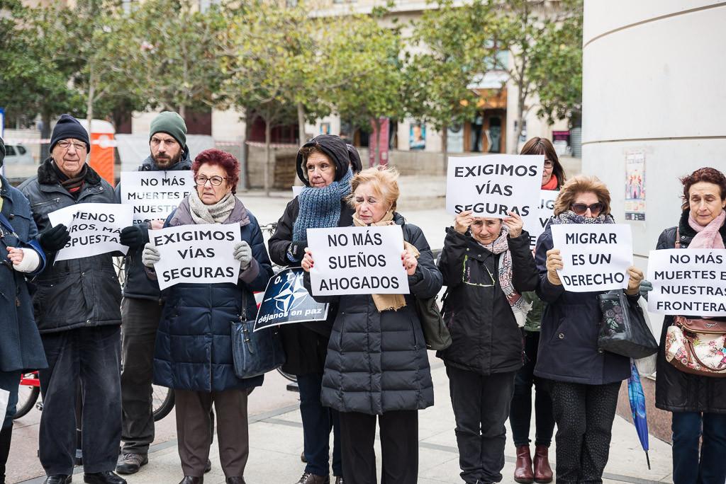 Zaragoza guardará cinco minutos de silencio cada vez que haya una sola persona migrante más muerta en el Mediterráneo