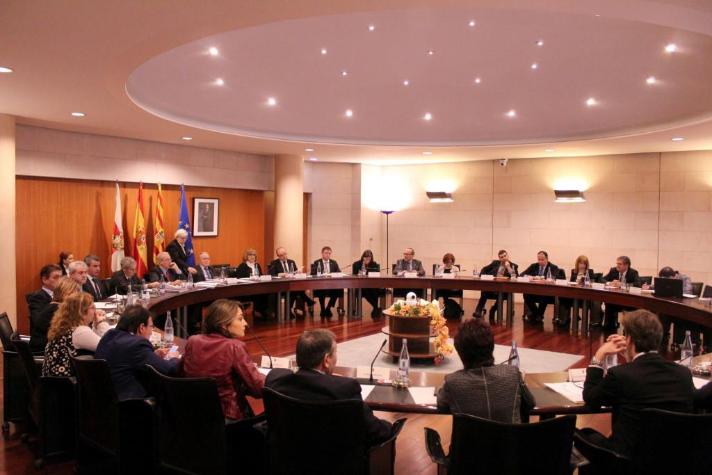 La DPH estudiará la puesta en marcha del servicio de extinción de incendios del Alto Aragón