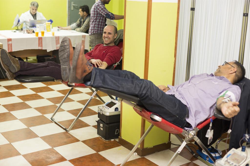 La casa Palestina de Aragón desarrolla una jornada de donación de sangre