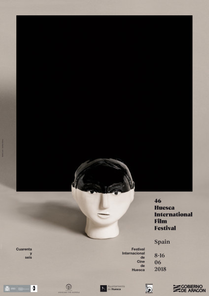 El cartel del 46 Festival Internacional de Cine de Huesca es un diseño de Rachel Levit