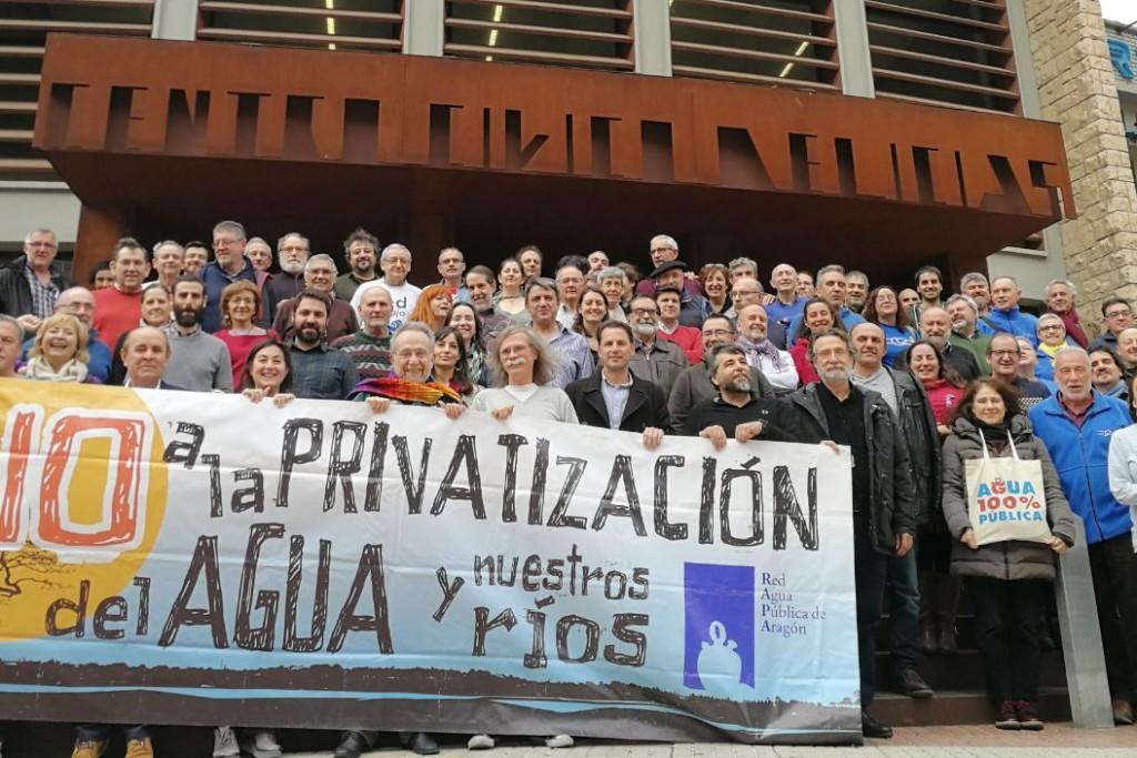 """La gestión pública del agua como defensa ante las """"amenazas trasvasistas"""""""