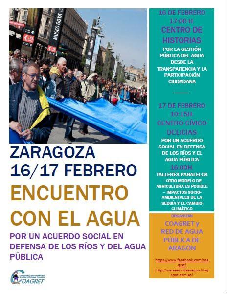Encuentro estatal por un 'Acuerdo Social en Defensa de los Ríos y del Agua Pública