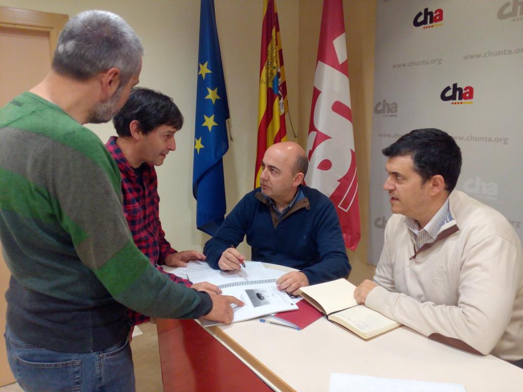 CHA pide al alcalde de Almudébar que renuncie a su pretensión de subirse un 59 % el sueldo