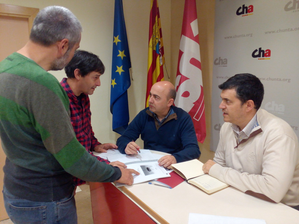 CHA estudia iniciativas ante el incumplimiento del plan de restitución ligado al embalse de Almudébar
