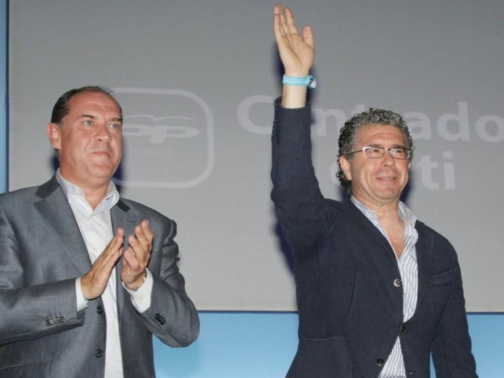 González y Aguirre elegían los nombramientos de Arpegio para financiar al PP de Madrid