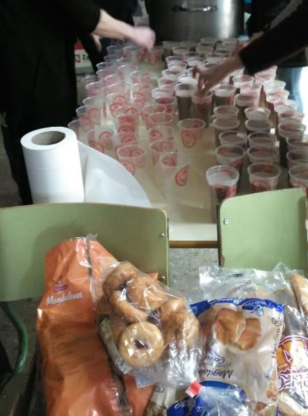 IES Pablo Gargallo desayunos pobreza infantil 2