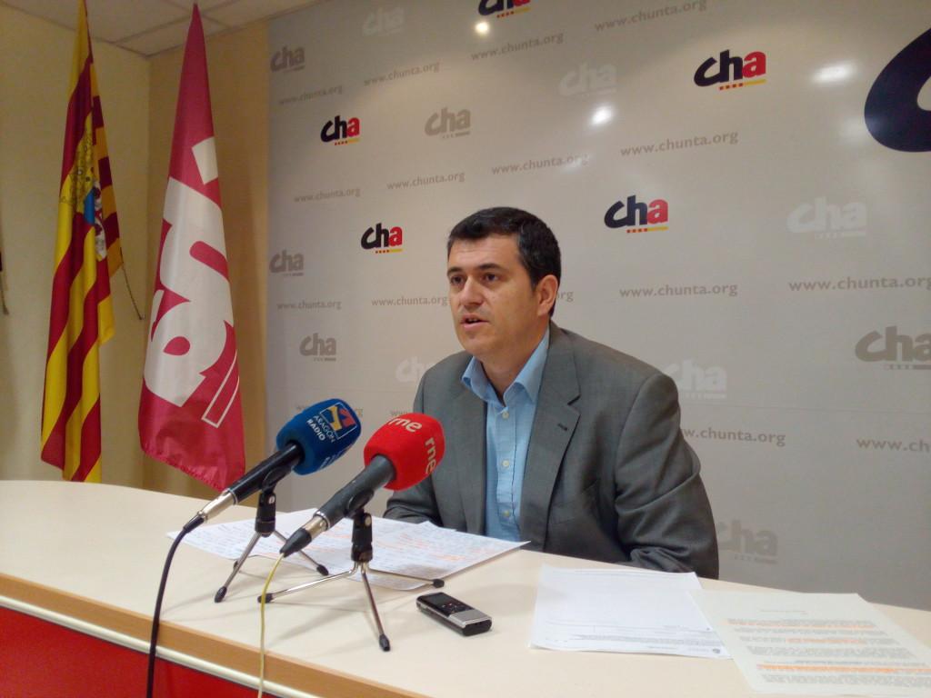 Chunta Aragonesista considera «un jarro de agua fría» la respuesta del Gobierno español sobre el cruce de Aurín